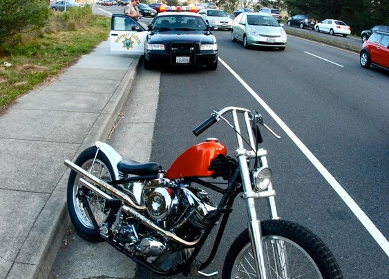 Shovelhead Lane Splitter