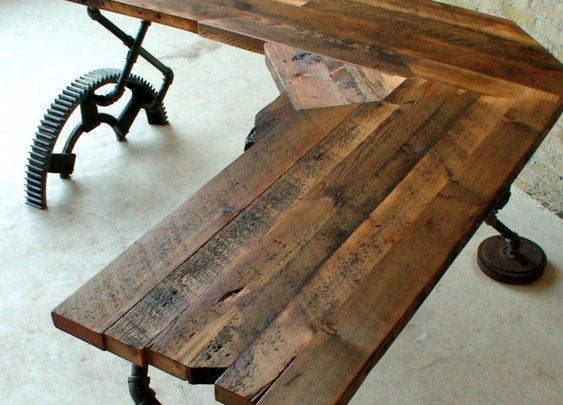 Desk - Reclaimed