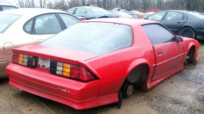 1992 Chevy Camaro Rs  Parts Only