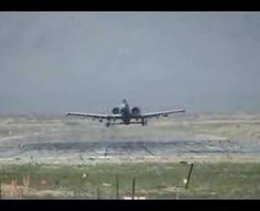 A-10 Warthog Fly By. AMAZING!