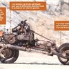 Man stranded in desert builds motorcycle out of his broken car