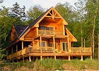 Plan W9812sw Sloping Lot Cottage Canadian Narrow Lot