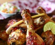 Tamarind-Glazed Roast Chicken