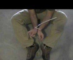 Escape Zip Tie Restraints with Paracord Shoelaces