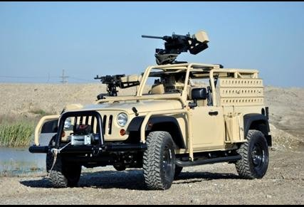 Jeep J8 - Light Patrol Vehicle (LPV)