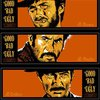 The Good, The Bad, and The Ugly Movie Poster by Billy Perkins