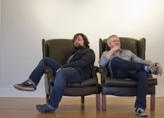 Founders Of Gentlemint:  Glen Stansberry, left, and Brian McKinney