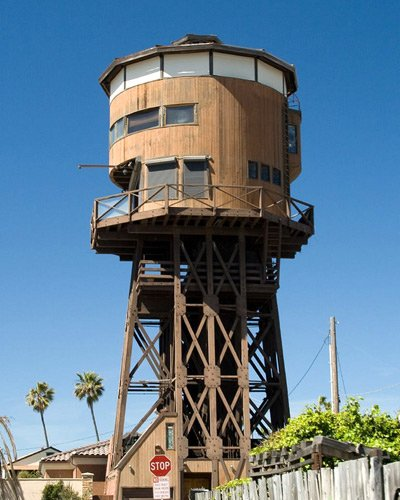 Water Tower Converted To A House Think Animaniacs