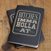 Bitches Imma Holla At Notebooks - 2pk - Cool Material
