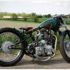 "Old Empire Motorcycle's ""Pup"" Bobber"