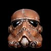 Steampunk  Storm Trooper Helmet Star wars  Life Size by kyoob