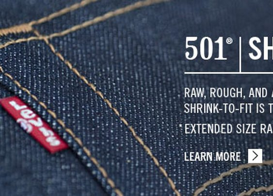 Mens 501 Shrink-to-Fit - Jeans, Pants, Trousers, and more - Levi's