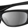 Oakley Straight Jacket Sunglasses with Polished Black Frame and Black Iridium Lens