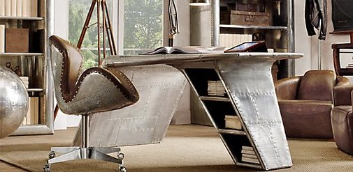 Aviator Wing Desk | Restoration Hardware