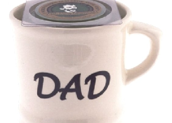 'DAD'  Shave Mug with Shave Soap
