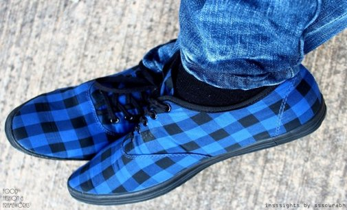 Love Plaid Shirts? Try the Shoes