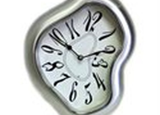 Salvador Dali Wall Clock