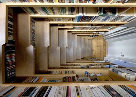 Book Shelf Closet