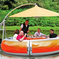 Floating Barbecue Grill