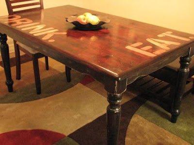 Refinish Kitchen Table Top Pin By Vandertol On Kitchen Ideas