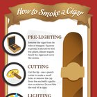 [INFOGRAPHIC] How to Smoke Cigars «  CheapHumidors.com Blog