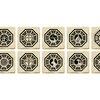 Lost Dharma Stations Emblem Ceramic Tile Coasters