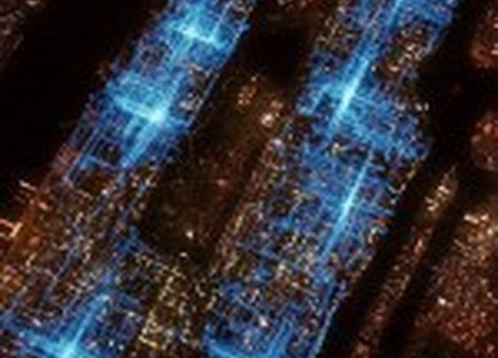 Visualization of NYC Pizza Delivery Routes from America Revealed