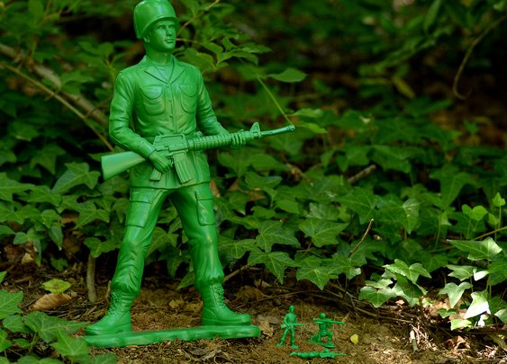 Kickstarter: Giant Toy Soldier