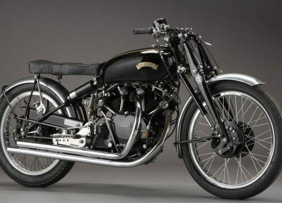 1952 Vincent Black LIghtening