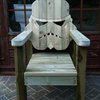 Custom Stormtrooper Head Lawn Chair