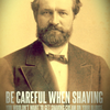 BEARDED GOSPEL MEN • Be careful shaving. You wouldn't want to get...