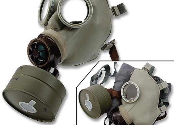 Gasmask - Czech Gas Mask w/ Bag & Filter - Type Z - Unissued