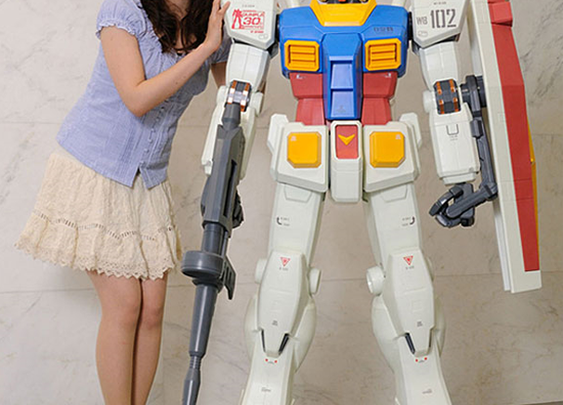 Bandai $3,400 RX-78-2 Gundam action figure replica 1/12