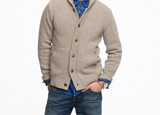 Wallace & Barnes Fircrest cardigan - wallace & barnes - Men's sweaters - J.Crew