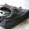 Repurposed Tshirt Sleeve Man Bag by TrashN2Tees by TNTees on Etsy