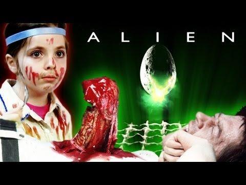 Kids take on gnarly 'Alien' chest-bursting scene in parody (video)