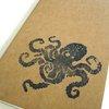 8 Bit Octopus large moleskine journal lined by blackbirdandpeacock