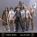 Cyber Wars - Reimagined Star Wars Themed Action Figure Series by Sillof