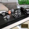 Typewriter CufflinksPersonalized wooden black keys by PHILIPAPIPA