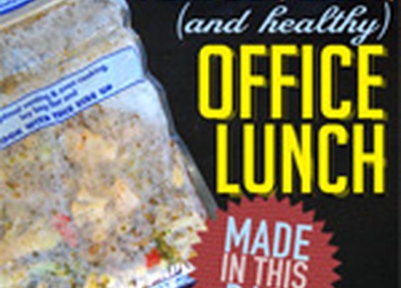 The Perfect, Easy (and Healthy) Office Lunch | Primer