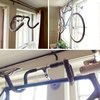 Handlebar Bicycle Hanger Suspends Your Ride from the Wall | Designs & Ideas on Dornob