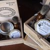 Groomsmen Shave Sets Badger Brush Mens Wedding by DirtyDeedsSoaps
