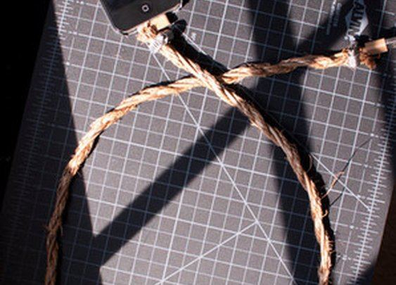 Manila Rope iPhone iPad iPod Cable Rustic ($20.00) - Svpply