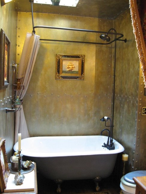 Steampunk Bathroom Gentlemint