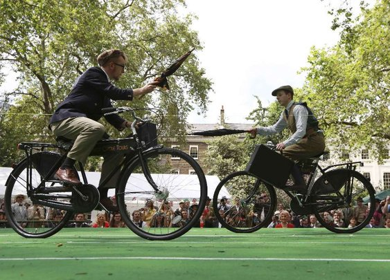 Gentlemen, unsheathe your umbrellas! Chap Olympiad celebrates all things eccentric about the British upper classes