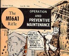 Will Eisner's 1968 M16 rifle manual - Boing Boing