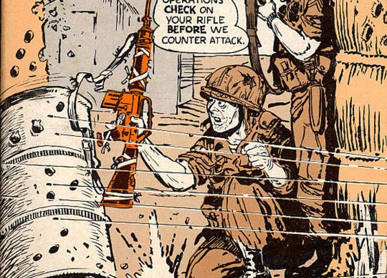 Will Eisner's 1968 M16 rifle manual - Boing Boing