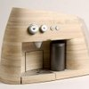 Original Wooden Espresso Machine by Oystein Helle Husby | Freshome