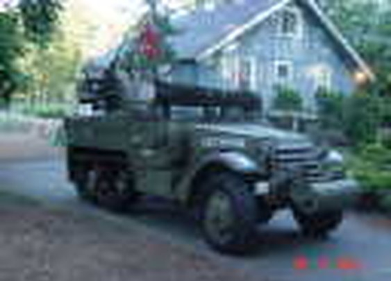 1942 International M16 Half Track For Sale