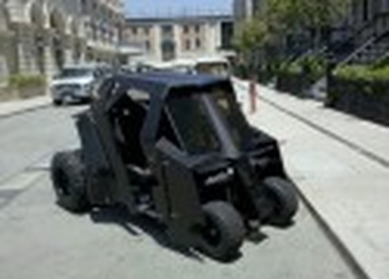 Dark Knight Golf Cart